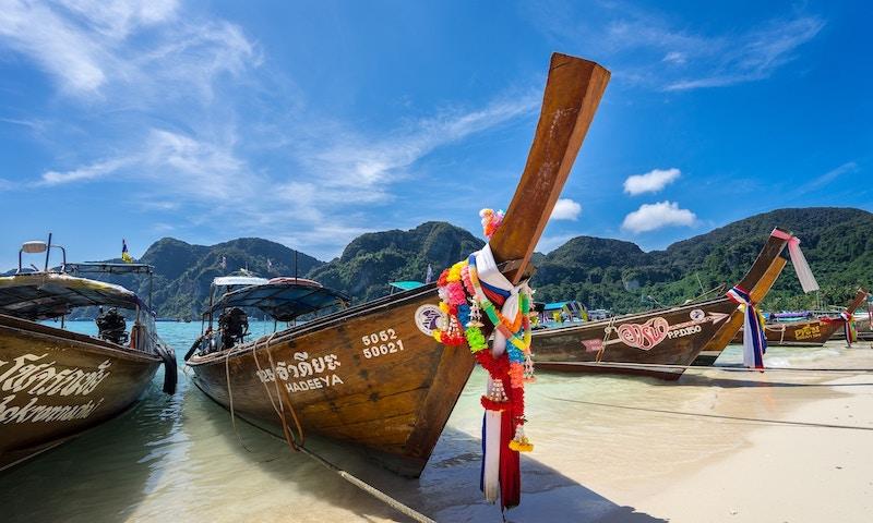 Krabi Tourist Boats in Thailand