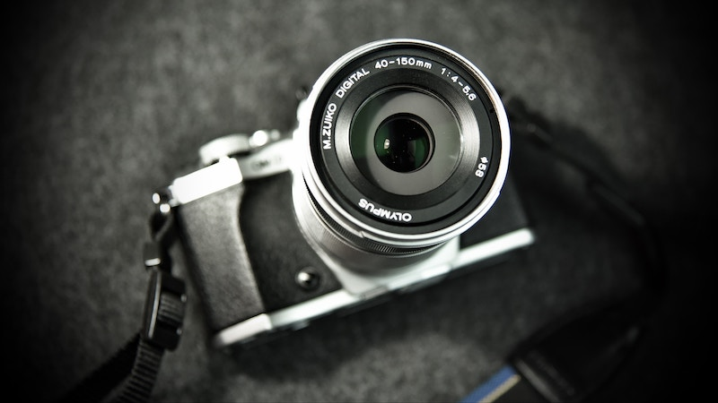 Olympus OMD Digital Camera & Lens