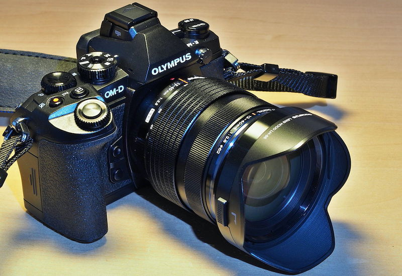 olympus om-d with 12-40mm lense
